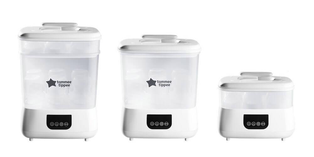 Máy tiệt trùng hơi nước và sấy khô Steri-Dry thương hiệu Tommee Tippee